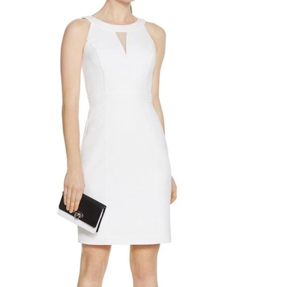 2b6ba89d White House Black Market Dresses | Petite Sleeveless Organza White ...